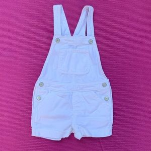 Toddler girls overall shorts